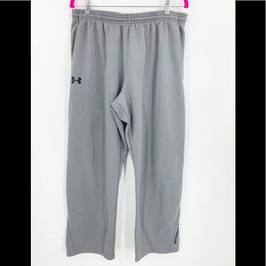 Under Armour Gray Athletic Sweatpants XL Youth